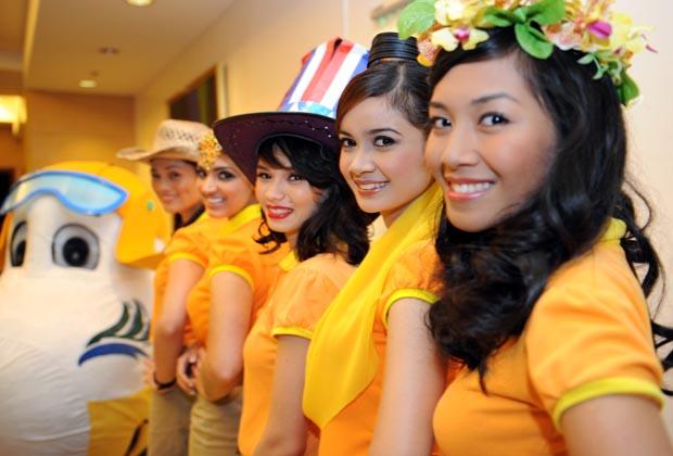 フィリピンの航空会社のCAの制服まとめ